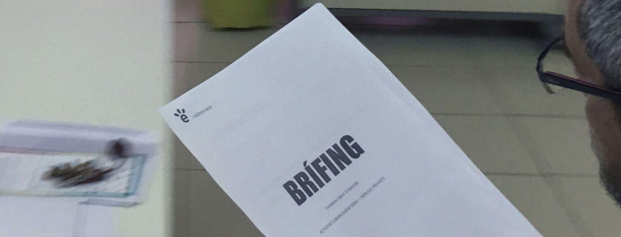 La importància del brífing
