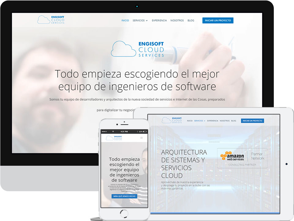 engisoft cloud services header