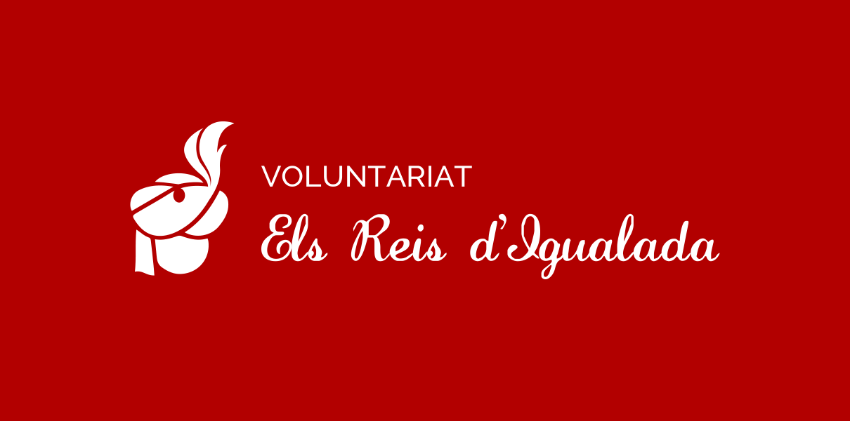 Isotip del Voluntariat Reis d'Igualada