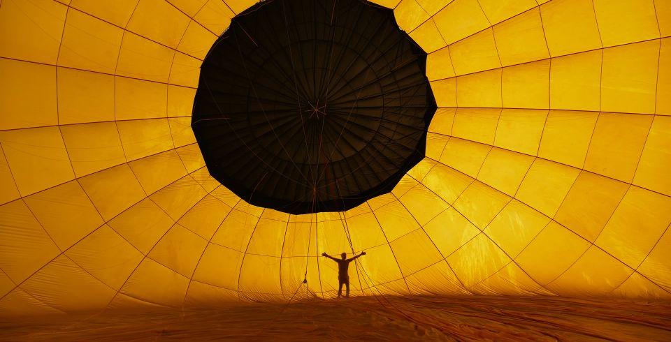 La magia de volar en globo